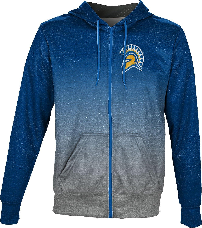 Ombre ProSphere San Jose State University Boys Full Zip Hoodie