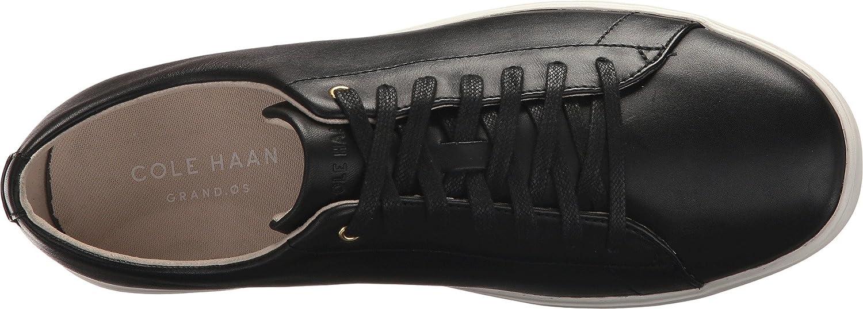 Cole Haan Women's Grand Crosscourt Ii Sneaker B079J78HR9 10 B(M) US|Black Leather/White