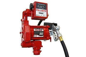 Amazon com: Fill-Rite - FR701-1/3 HP Steel Fuel Transfer