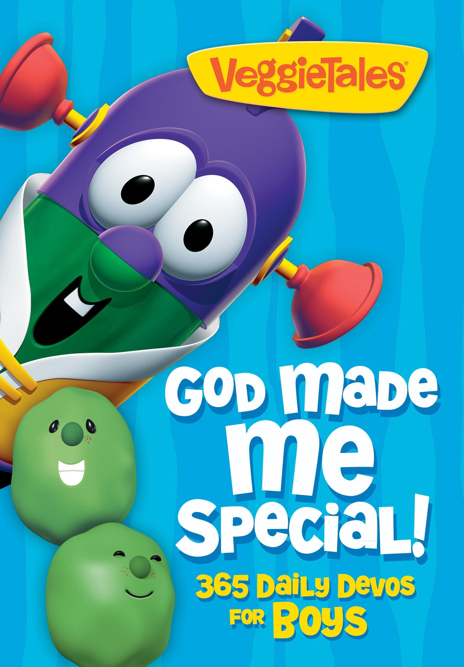 God Made Me Special!: 365 Daily Devos for Boys (Veggietales): VeggieTales:  9781617953811: Amazon.com: Books