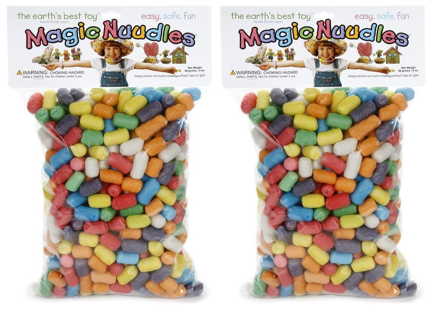 2-Pack Bundle - Magic Nuudles - Bold - 300 per pack - 600 Total Nuudles by Darice