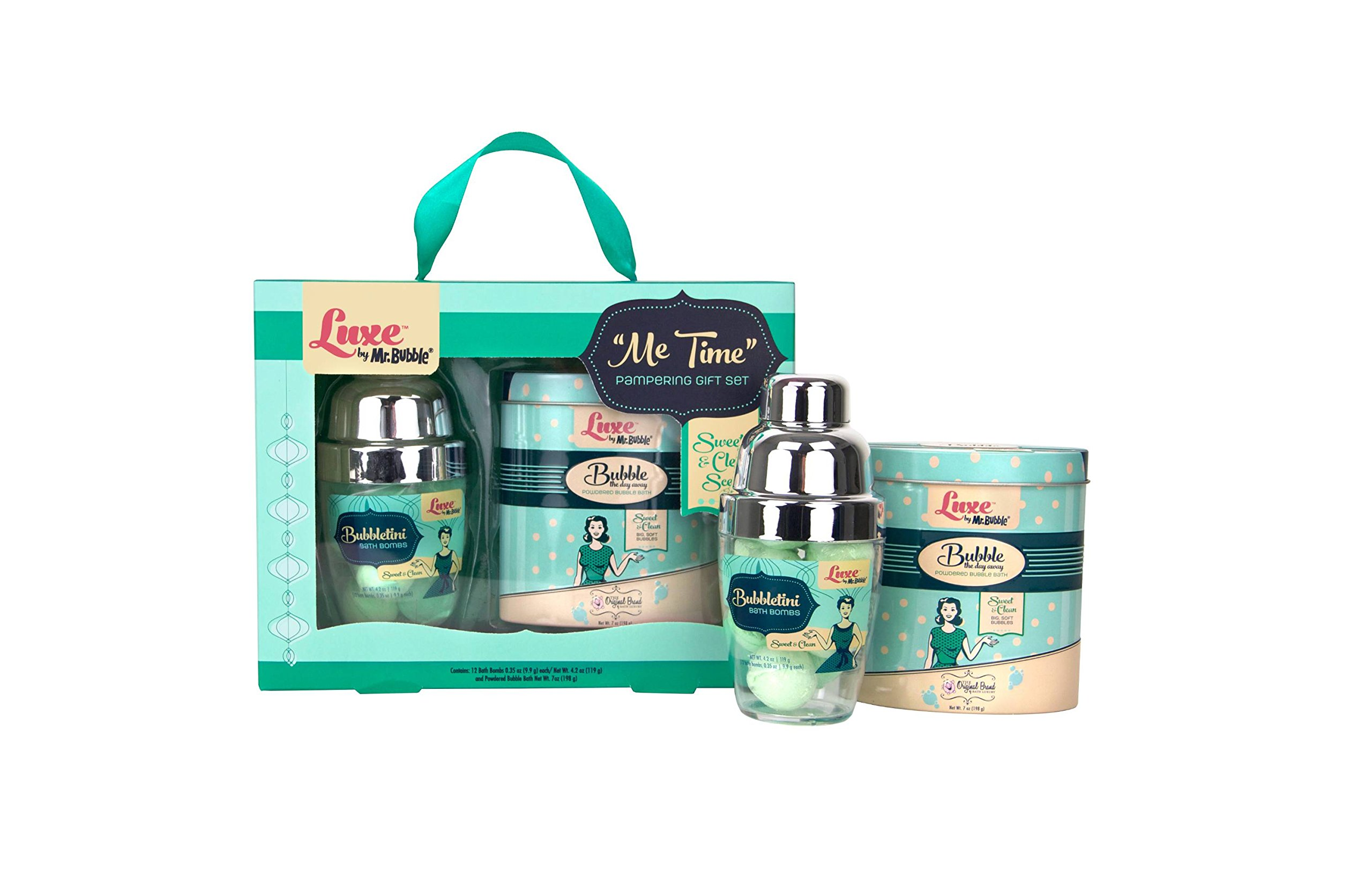 Mr. Bubble Luxe Bath And Body Gift Set, pack of 1 by Mr. Bubble