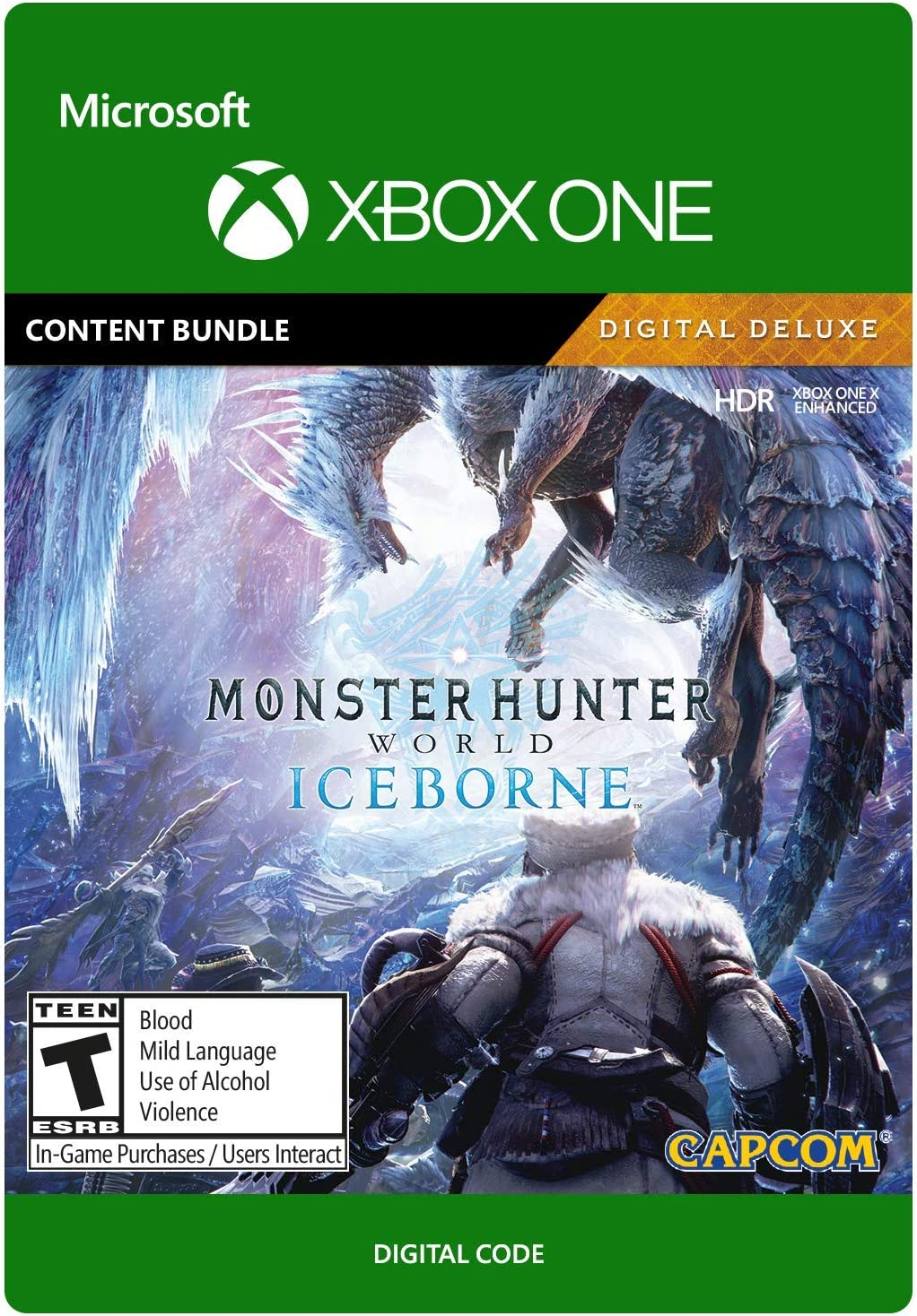Amazon.com: MONSTER HUNTER WORLD: ICEBORNE - [PS4 Digital ...