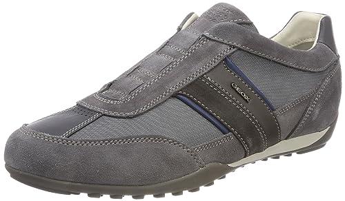 Geox U Wells a, Zapatillas para Hombre, Azul (Navy), 46 EU