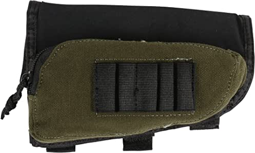 Allen Company Buttstock Shell Holder and Pouch for Rifles
