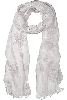 GIULIA BIONDI 100/% Made in Italy Bufanda Cachemira Estola Chal Pareo Ligera Suave Envolvente para Mujer y Hombre