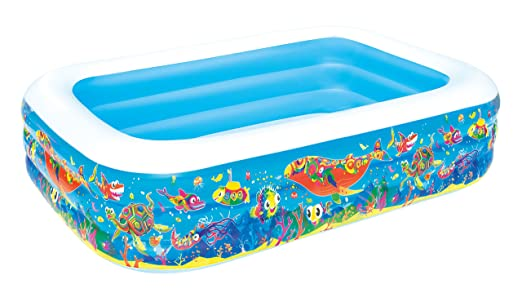 Piscina Hinchable Infantil Bestway Play Acuario 229x152x56 ...