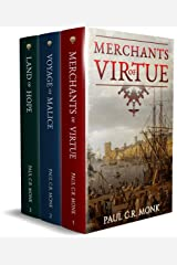 The Huguenot Chronicles: Books 1 - 3 (includes: Merchants of Virtue, Voyage of Malice, Land of Hope): A historical fiction trilogy Kindle Edition