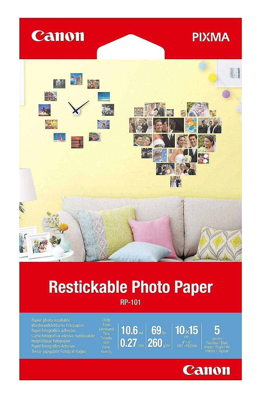 3635C002 papel fotográfico Blanco Mate: Amazon.es: Oficina y ...