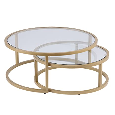 Glass Coffee Table Nest 3