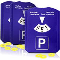 com-four® Disco de estacionamiento 3X con raspador