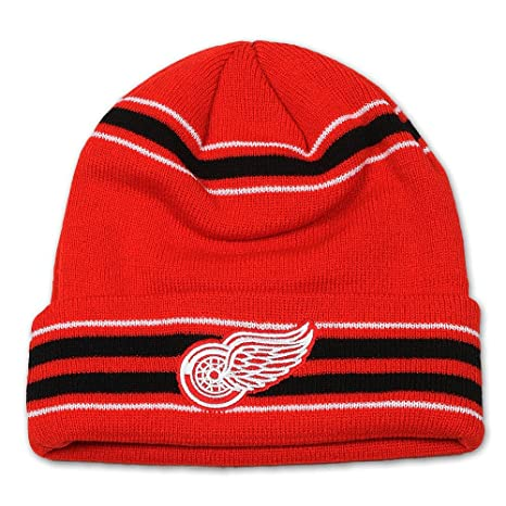 78099d29f3cb77 Image Unavailable. Image not available for. Color: Detroit Red Wings  Brillion Knit ...