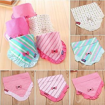 Bazaar De encaje de los niños de los bebés baberos Pinny niño pañuelo de cabeza triángulo