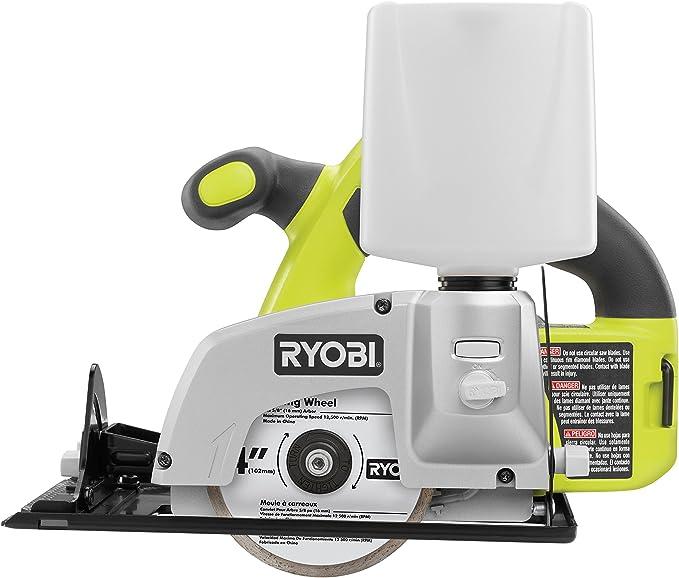 "RYOBI 18V ONE 2 Warranty DRY TILE SAW-Japan Brand 4/"" WET"