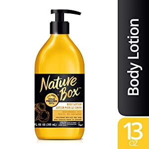 Nature Box Body Lotion - for Nourished Skin, with 100% Cold Pressed Macadamia Oil, 13 Ounce
