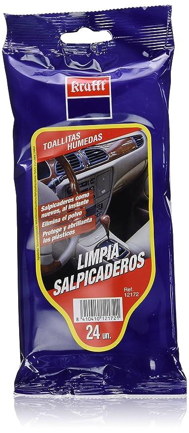 Krafft - Toallitas Limpia Salpicaderos, 24 unidades