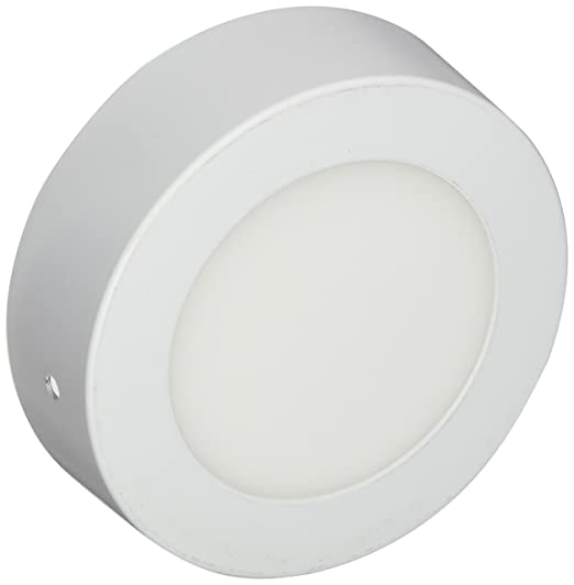 LYO Downlight LED Superficie Redondo Integrado, Blanco 3.5 x 12 cm