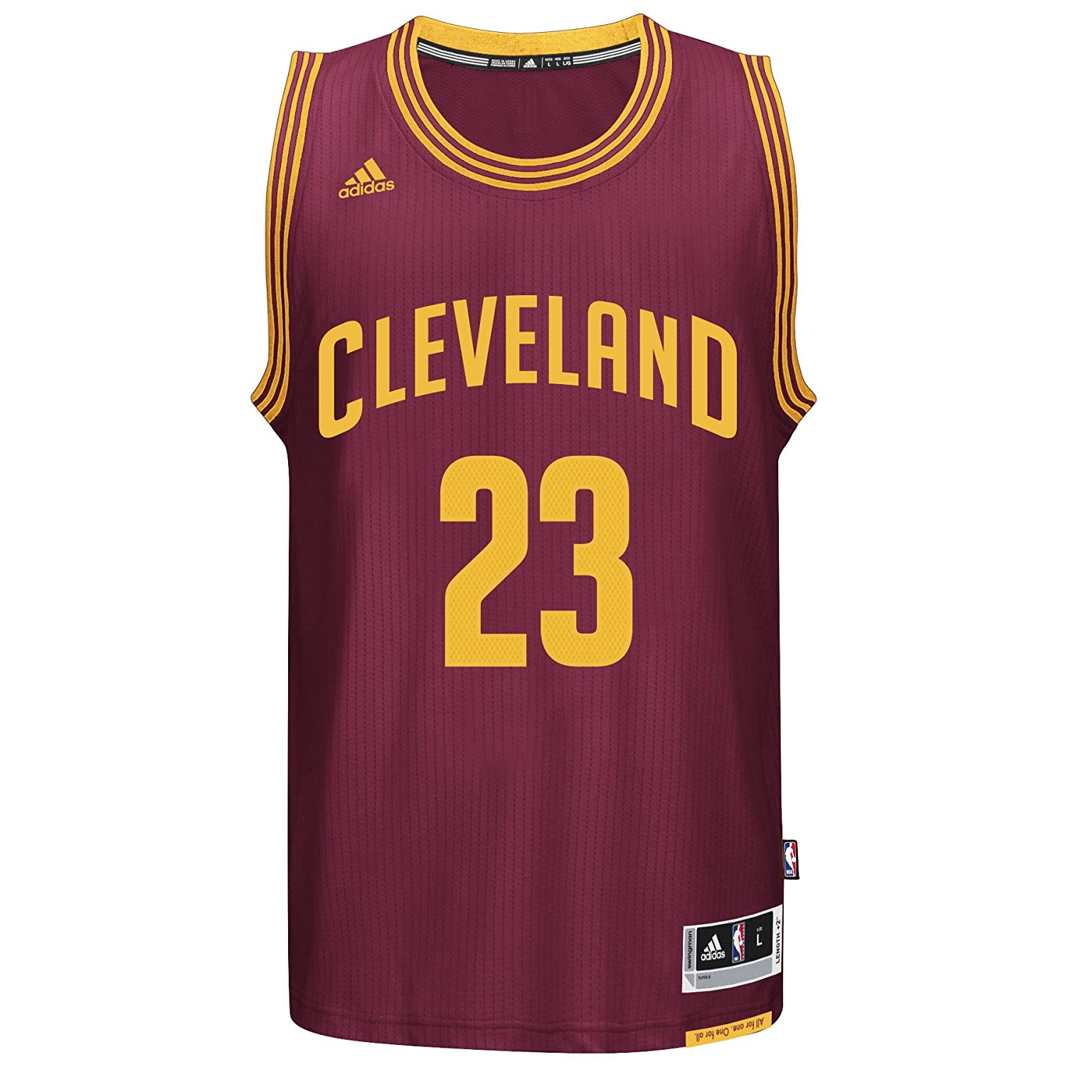 Cavs black t shirt jersey - Amazon Com Lebron James Men S Maroon Cleveland Cavaliers Adidas Swingman Jersey Sports Outdoors