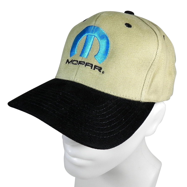 Mopar Logo Beige and Black Baseball Cap CFS 5559018730