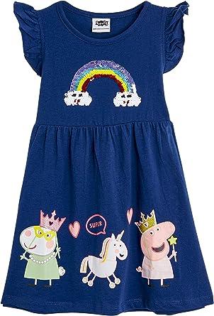 Peppa Pig Vestido para Niñas Verano | Conjunto Infantil Rosa Sin ...