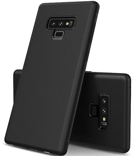 0e77384e3e1 Geemai Samsung Galaxy Note 9 Funda Fina de Silicona, Funda Suave y  Duradera, Funda de TPU. Estuche para Smartphone Samsung Galaxy Note 9.Negro:  Amazon.es: ...
