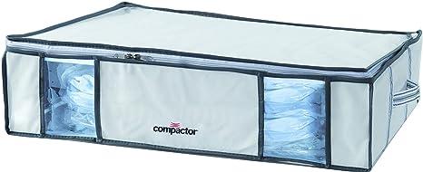 COMPACTOR Caja de Almacenaje Al Vacío, Talla L, 145 l, Blanco