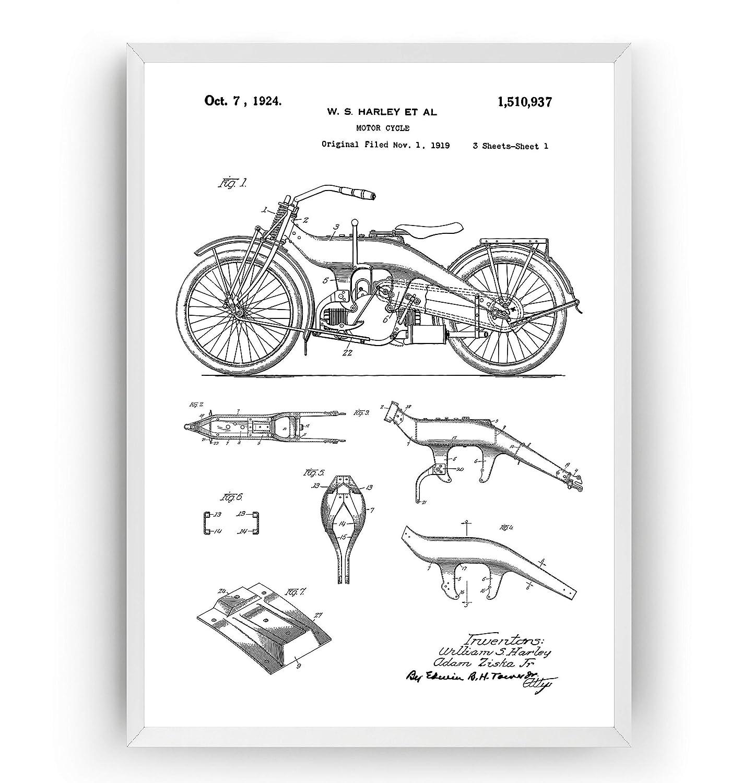 Harley Davidson Kes Diagram on