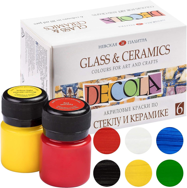 Nevskaya Palitra Porcelana Color | 6x 20ML näpfchen | Cristal Veces Colores Set–deckend