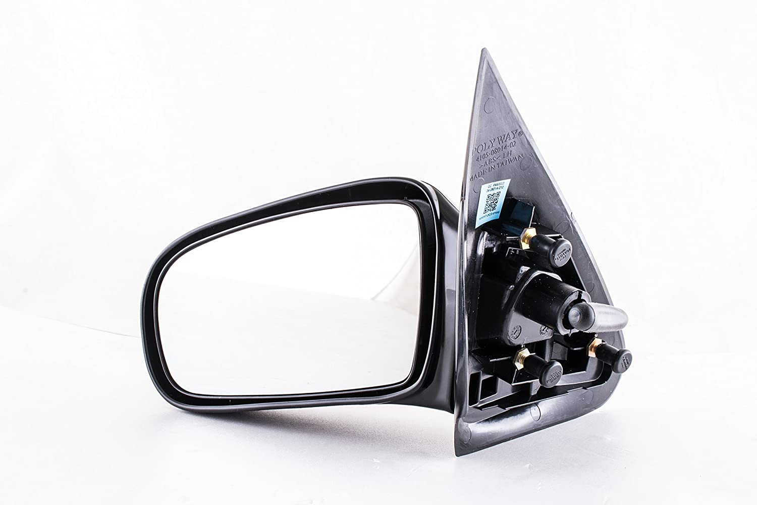 Driver Side Mirror for Chevy Cavalier, Pontiac Sunfire Coupe (1995 1996 1997 1998 1999 2000 2001 2002 2003 2004 2005) Unpainted Non-heated Non-Folding Left Rear View Replacement Door Mirror Dependable Direct