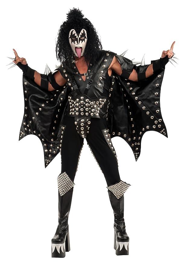Rubbies - Disfraz de rockero para hombre, talla única (51912)