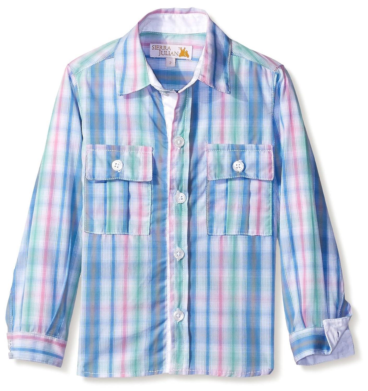 SIERRA JULIAN Boy's Mairo Button-up Shirt S5S16BK01