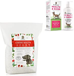 Dr. Harvey's Canine Health 10lb Base Mix for Dogs Health & Shine Salmon and Krill Oil for Dogs