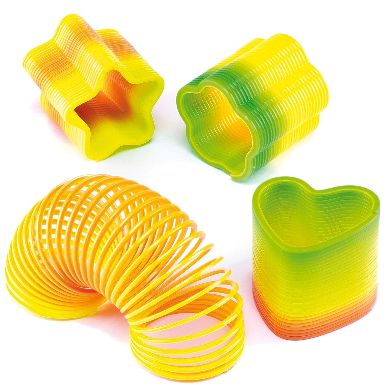 confezione da 6 Baker Ross P518 Mini Molle Multicolore