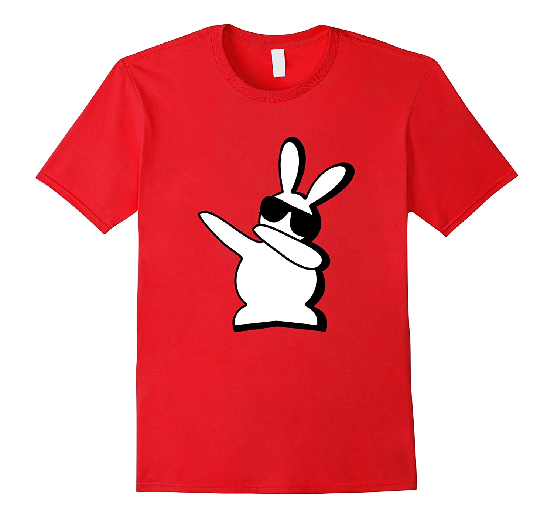 Dance Bunny I Said a Hip Hop Little Easter Shirt Boys Kids-CD