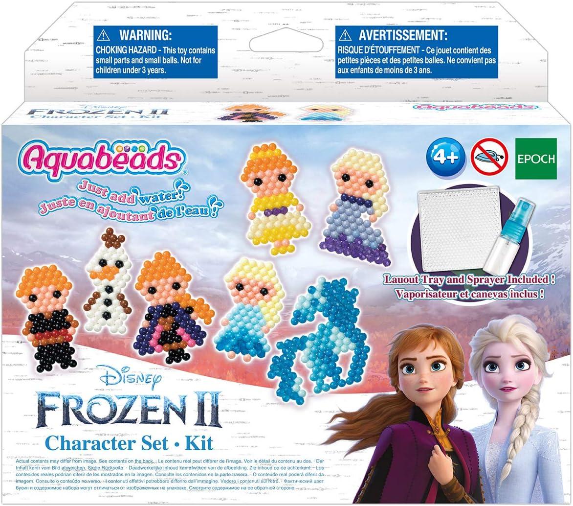 Aquabeads Character Set Juego de 2 Personajes de Frozen (Epoch AB31370): Amazon.es: Juguetes y juegos