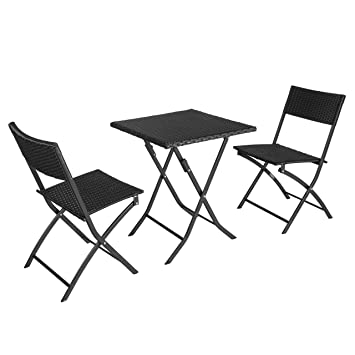 SoBuy® Gartenmöbel Set, Sitzgruppe, klappbar, Terrassenmöbel ...