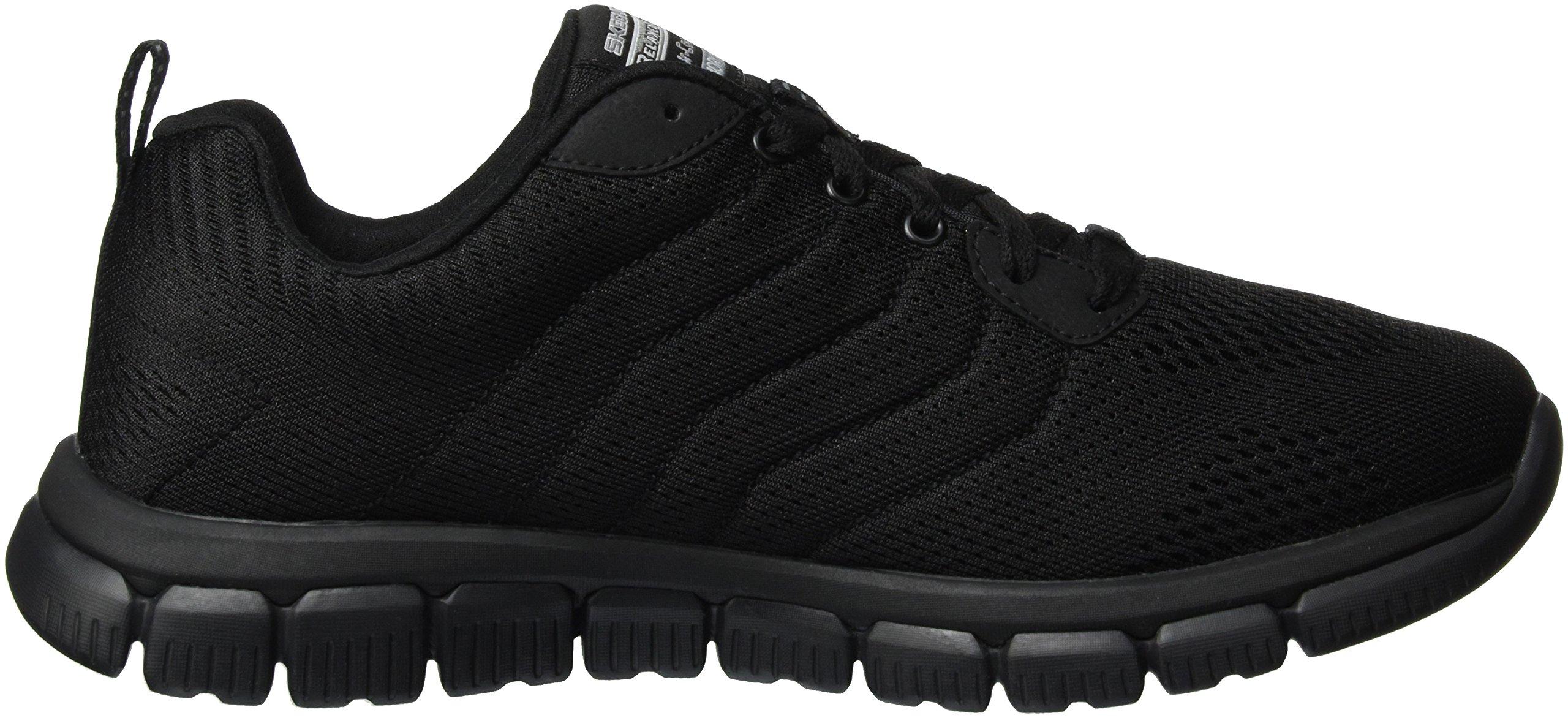 Skechers Sport Men's Skech Flex 2.0 Milwee Fashion Sneaker,Black,9 M US by Skechers (Image #6)