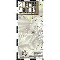 STREETWISE JERUSALEM: City Plans (Michelin City Plans)