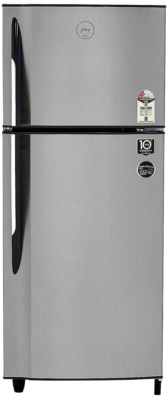 Godrej 236 L 2 Star   2019   Frost Free Double Door Refrigerator  R F GF 2362 PTH SLK STL, Sleek Steel  Refrigerators