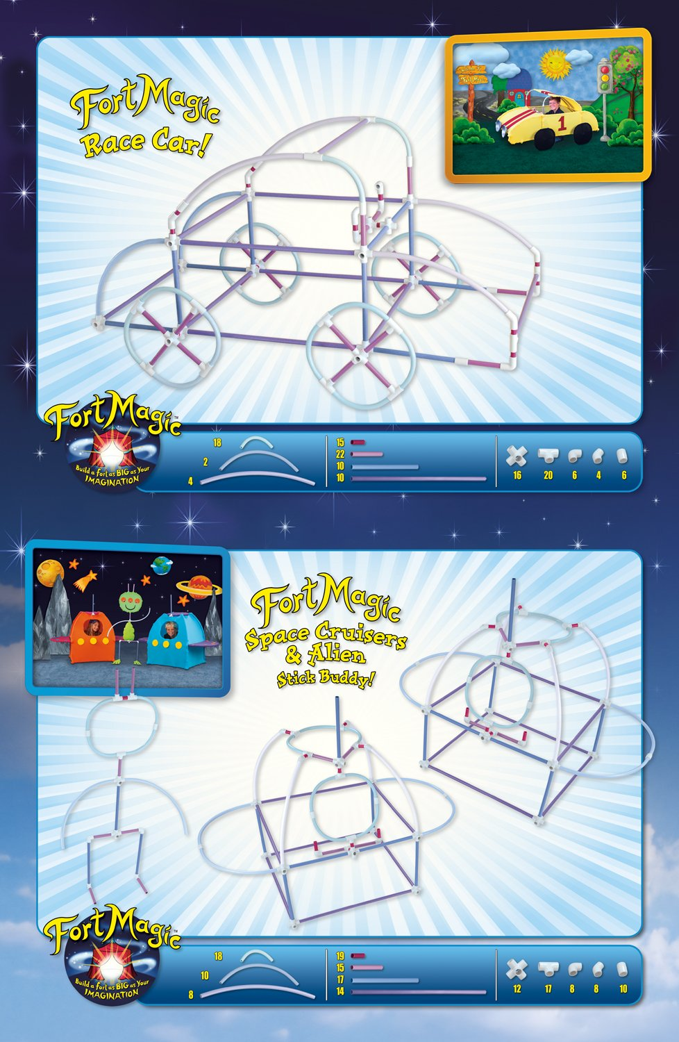 Fort Magic: Fort Building & Construction Toy Kit by Fort Magic (Image #9)