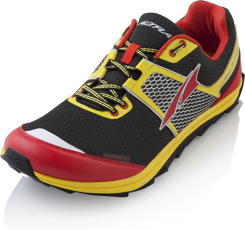 Altra Superior 1.5 Trail - Zapatillas de running para hombre, color Negro, talla 43: Amazon.es: Zapatos y complementos