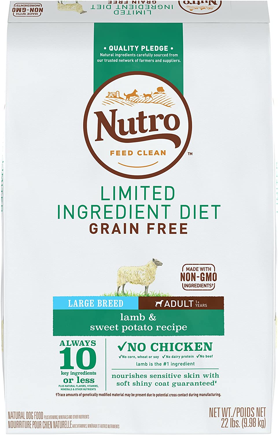 Nutro Max Grain-Free Natural Adult Dry Dog Food