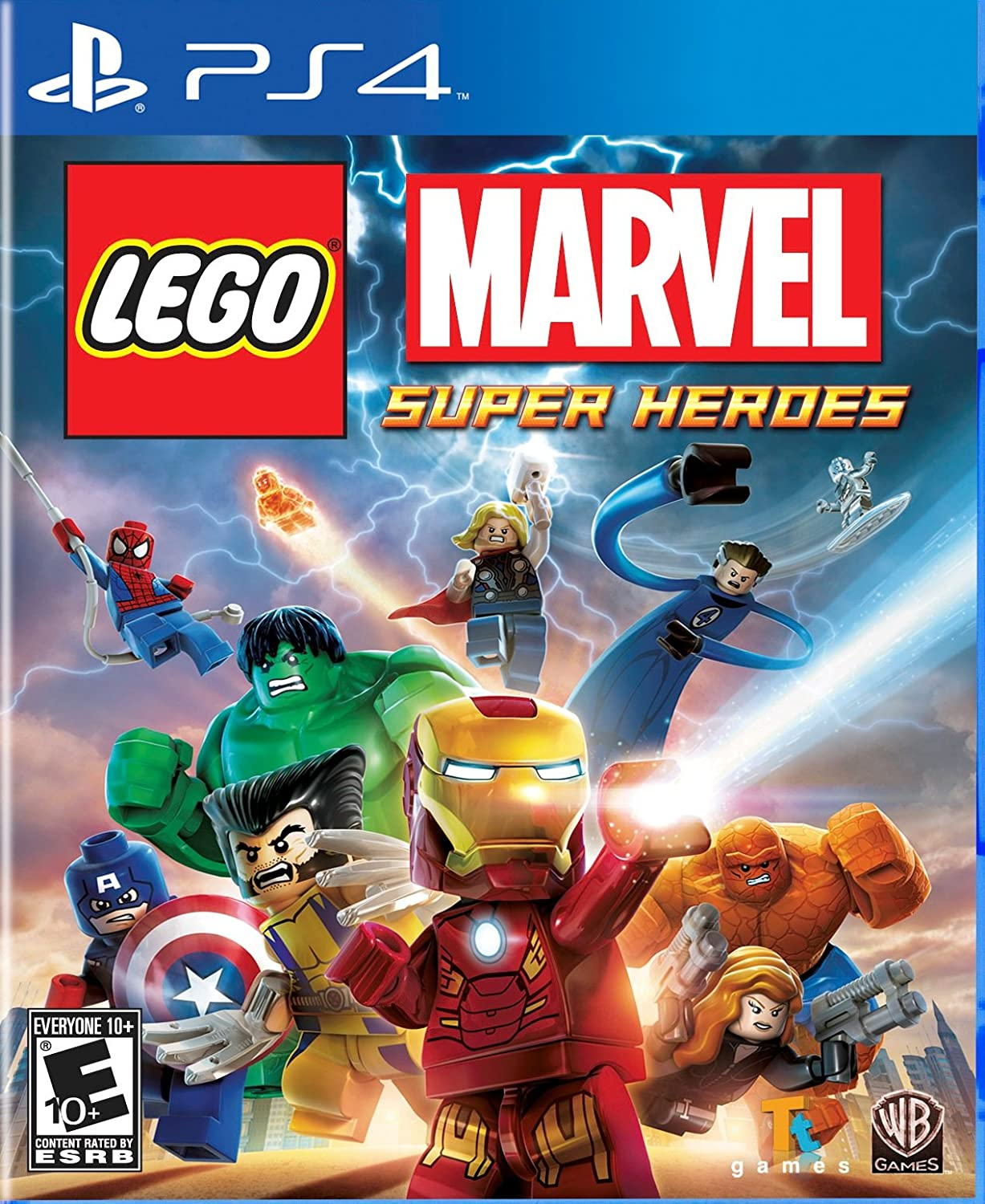 LEGO Marvel Super Heroes - PlayStation 4 by Warner Home Video - Games: Amazon.es: Videojuegos