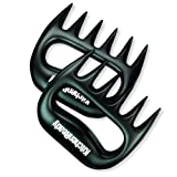 Pulled Pork & Meat Shredder Claws by KitchenReady. Easy Grip Handles to Lift, Stabilize, and Shred Meats.