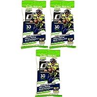 $49 » 3 PACKS: 2020 Panini Donruss NFL Football CELLO pack (30 cards/pk)