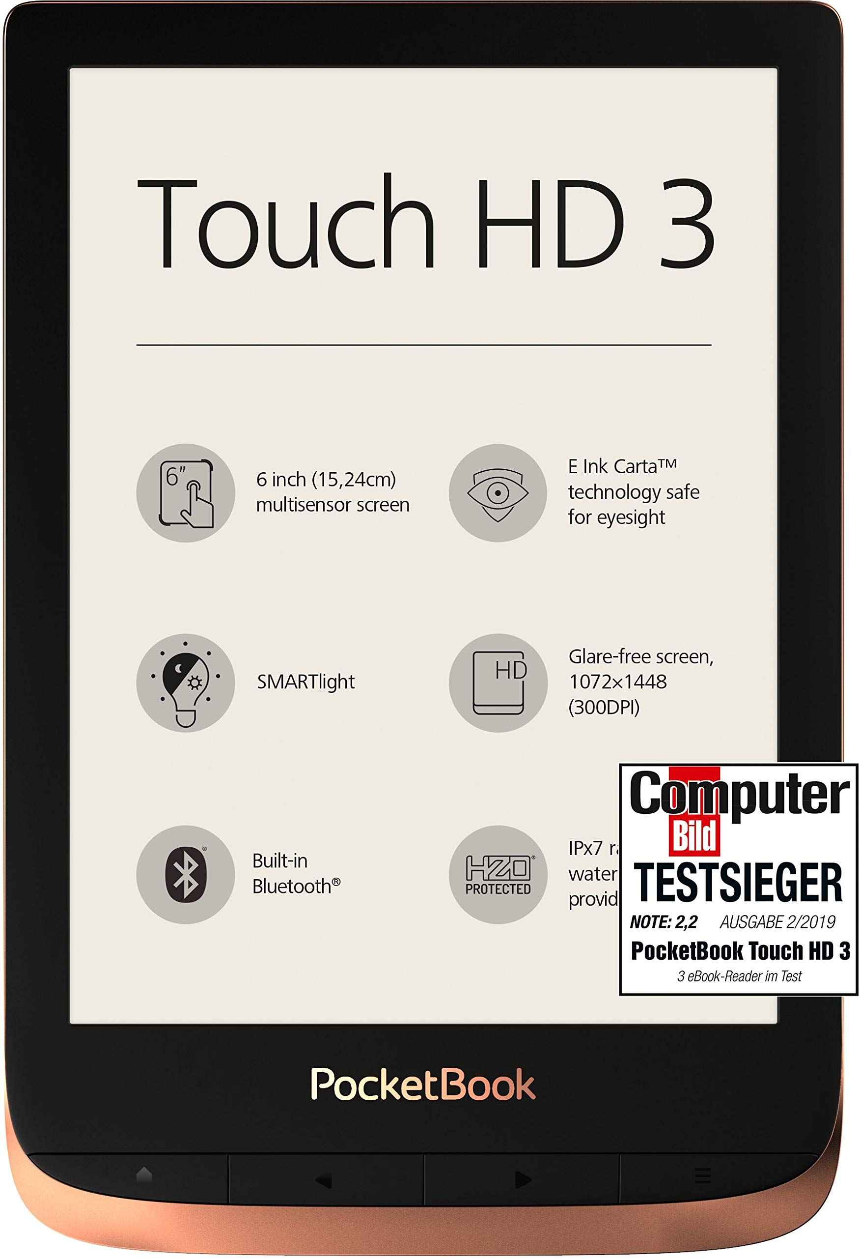 PocketBook Touch HD 3 - Spicy Copper