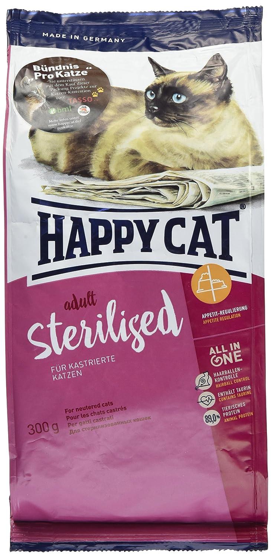 Happy Chat Adulte stérilisé, 300g Happy Cat 4001967080551
