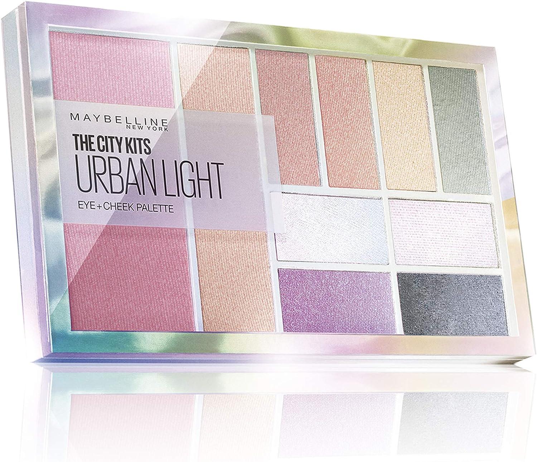 Maybelline New York - City Kits Urban Light Paleta de sombras - 80 gr: Amazon.es: Belleza