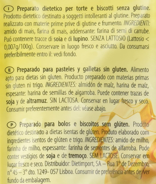 Dr. Schar Mix C Harina sin Gluten - 1000 gr: Amazon.es ...