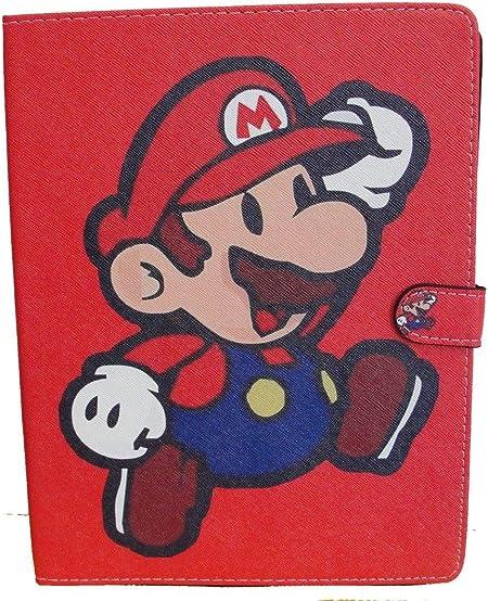 iPad 2/3/4 funda roja Super Mario diseño iPad tecleos en carcasa de plástico: Amazon.es: Electrónica